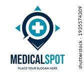 medical spot vector logo... | Shutterstock .eps vector #1935574309