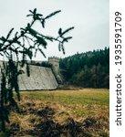 Derwent Dam  Peak District  Uk  ...