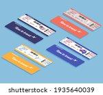 set of isometric airline... | Shutterstock .eps vector #1935640039