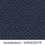 damask seamless vector pattern. ... | Shutterstock .eps vector #1935652279