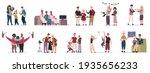 family activities. mother ... | Shutterstock . vector #1935656233