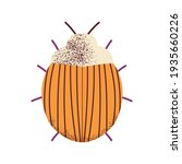 cartoon colorado potato beetle. ...   Shutterstock .eps vector #1935660226