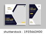 modern editable social media... | Shutterstock .eps vector #1935663400