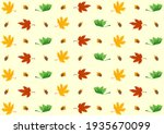 collection of autumn  fall... | Shutterstock .eps vector #1935670099