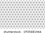 abstract geometry  triangle ... | Shutterstock .eps vector #1935681466