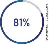 circle percentage diagrams ... | Shutterstock .eps vector #1935698296