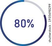circle percentage diagrams ... | Shutterstock .eps vector #1935698299