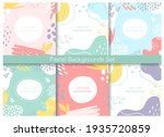 abstract pastel patterns  cute...   Shutterstock .eps vector #1935720859
