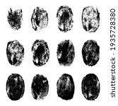 finger prints. human realistic...   Shutterstock . vector #1935728380