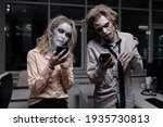 Dead And Spooky Businesspeople...