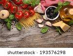 Italian Food Ingredients On...
