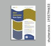 school admission social media... | Shutterstock .eps vector #1935794653