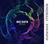 big data analytics background....   Shutterstock .eps vector #1935820636