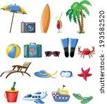 travel icons  | Shutterstock .eps vector #193582520