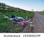 Domestic Waste Dumped Illegally ...