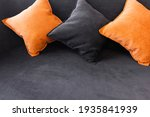 orange and black cushions on...   Shutterstock . vector #1935841939