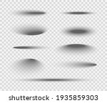 shadow ball circle round vector ... | Shutterstock .eps vector #1935859303
