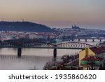 View Of The City Of Prague...