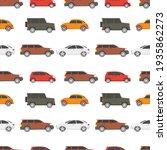 car seamless pattern. vector... | Shutterstock .eps vector #1935862273