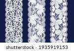 trim lace ribbon for decorating ... | Shutterstock .eps vector #1935919153