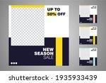 new set of editable minimal...   Shutterstock .eps vector #1935933439