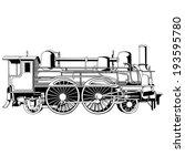 Big And Old Rapid Locomotive...