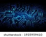 circuit technology background...   Shutterstock .eps vector #1935959410