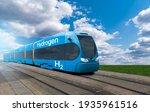 A Hydrogen Fuel Cell Train...