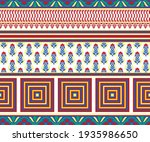 vector asian pattern with... | Shutterstock .eps vector #1935986650