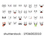 collection of emoticons with... | Shutterstock .eps vector #1936002010