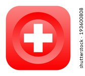 first aid icon | Shutterstock . vector #193600808