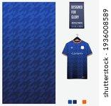 soccer jersey pattern design.... | Shutterstock .eps vector #1936008589