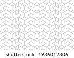 the geometric pattern with... | Shutterstock .eps vector #1936012306