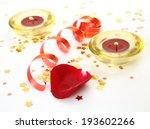 burning candles  | Shutterstock . vector #193602266