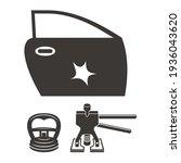 illustration for dent car body...   Shutterstock .eps vector #1936043620