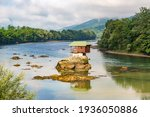House In The River In The Drina ...