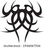 vector symbol  ornament  tattoo.... | Shutterstock .eps vector #1936067536