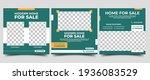 home for sale social media post ... | Shutterstock .eps vector #1936083529
