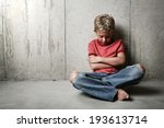 boy alone | Shutterstock . vector #193613714