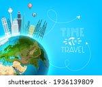 travel destination concept.... | Shutterstock .eps vector #1936139809