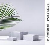 elegant summer abstract white...   Shutterstock . vector #1936143196