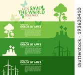 save the world | Shutterstock .eps vector #193620410