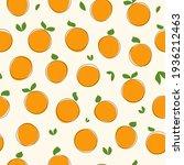 seamless fruit pattern. hand...   Shutterstock .eps vector #1936212463
