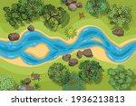 vector illustration. landscape... | Shutterstock .eps vector #1936213813