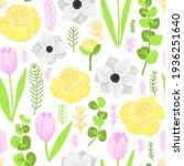 vector flat illustration spring ... | Shutterstock .eps vector #1936251640