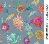 seamless vector pattern.... | Shutterstock .eps vector #193627820