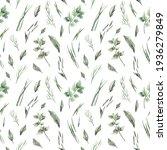 watercolor seamless pattern...   Shutterstock . vector #1936279849