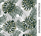 tropical pattern with original... | Shutterstock .eps vector #1936290616