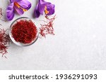Dried Saffron And Crocus...