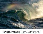 Beautiful Breaking Reef Wave...